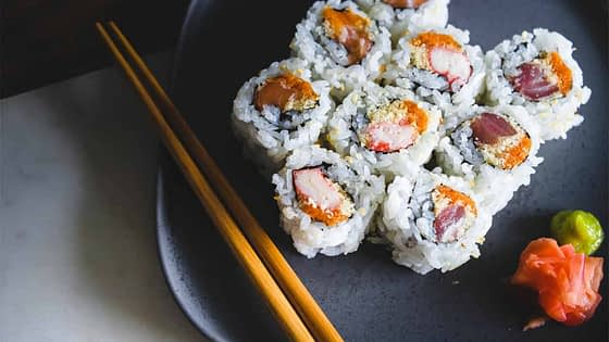 Arrange A Simple Sushi Party